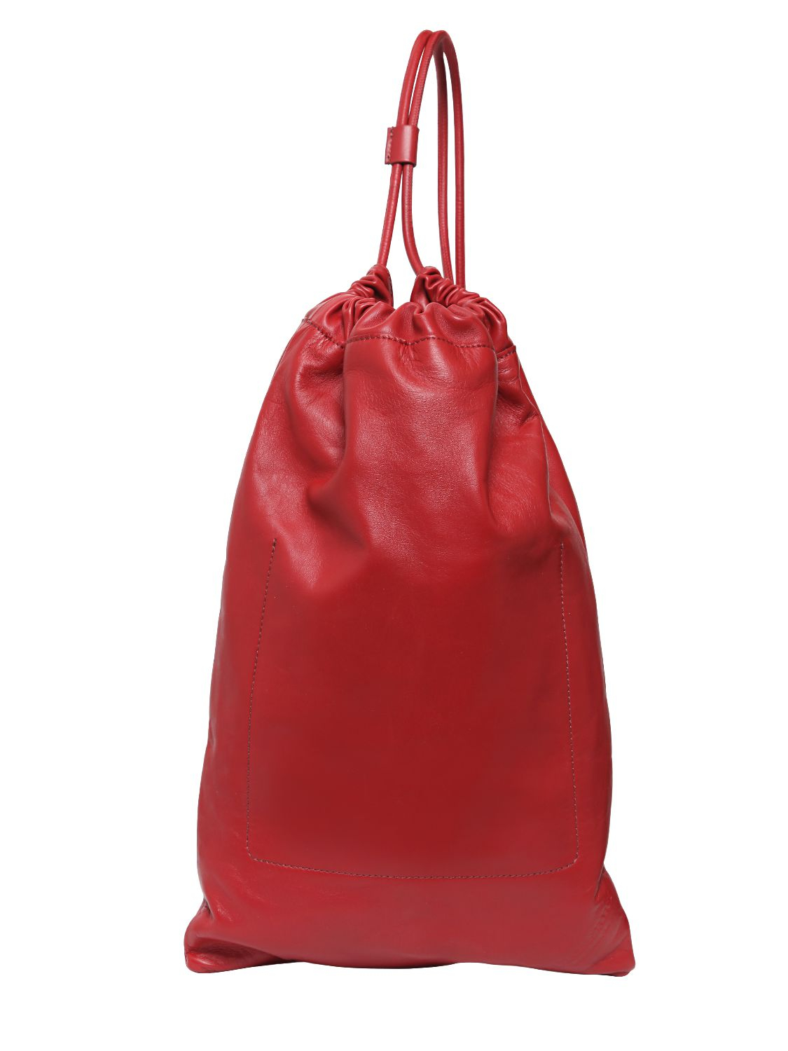 Burberry Prorsum Leather Duffle Bag in Red for Men - Lyst