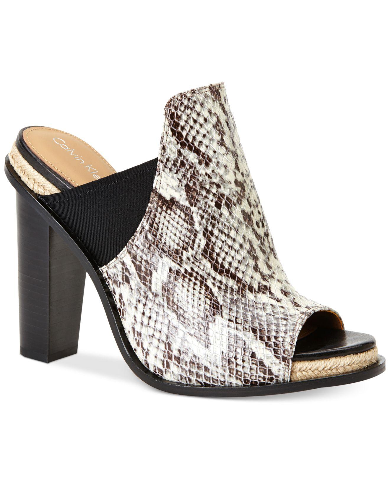 Calvin Klein Women S Peggy Slides Sandals Lyst