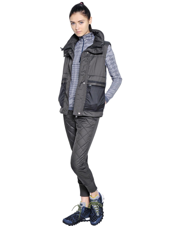 Lyst Adidas By Stella Mccartney Essentials Padded Nylon