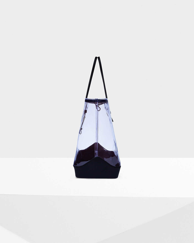 HUNTER Original Clear Tote Bag in Bright Lavender (Purple)