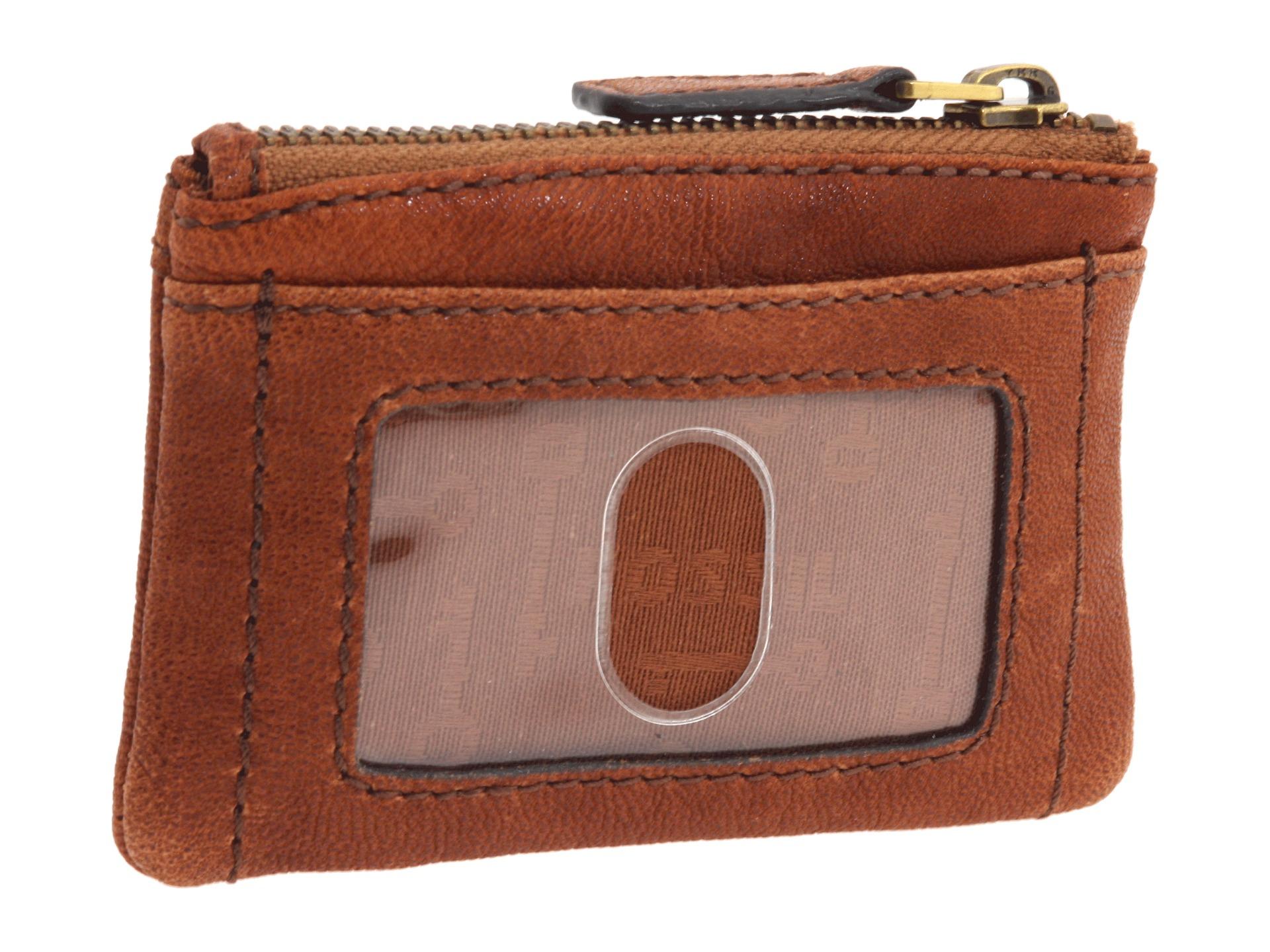 Fossil Sydney Tab Clutch Brown Sl 6697b200 Daftar Harga Terkini Dawson Multifunction Black 6675001 Dompet Emory Coin Zip In Lyst