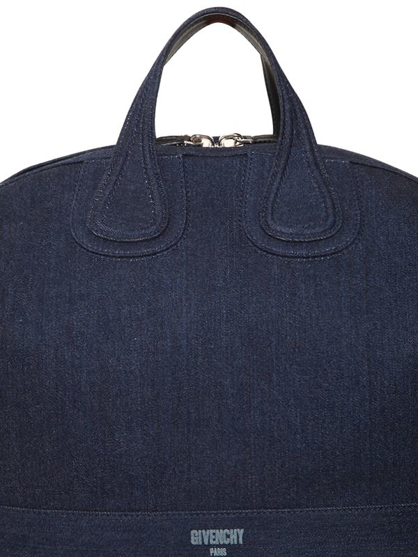 ee945978f7df Lyst - Givenchy Nightingale Cotton Denim Bag in Blue for Men