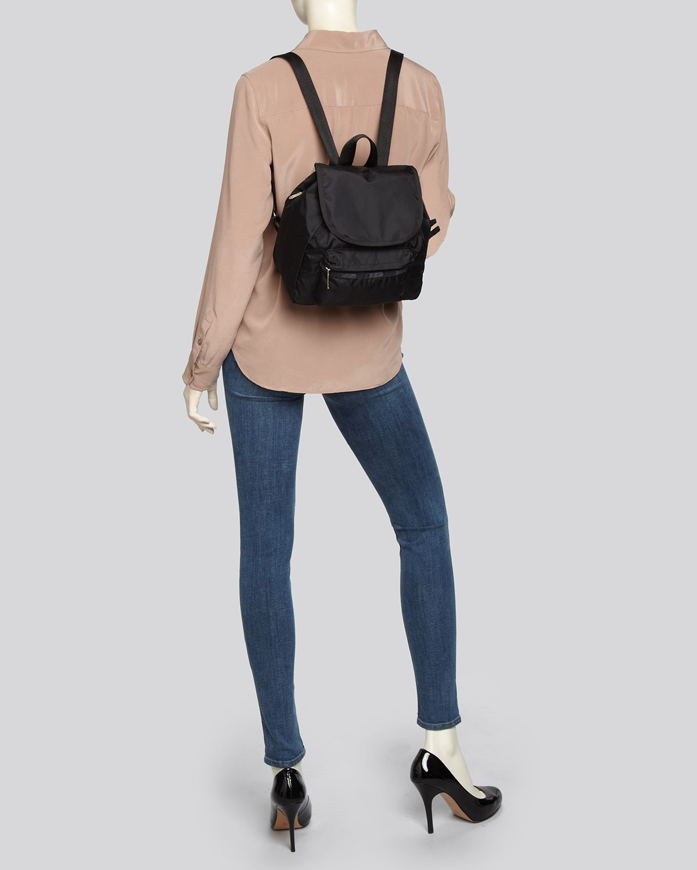 134e47b0490 Lyst - LeSportsac Backpack Small Edie in Black