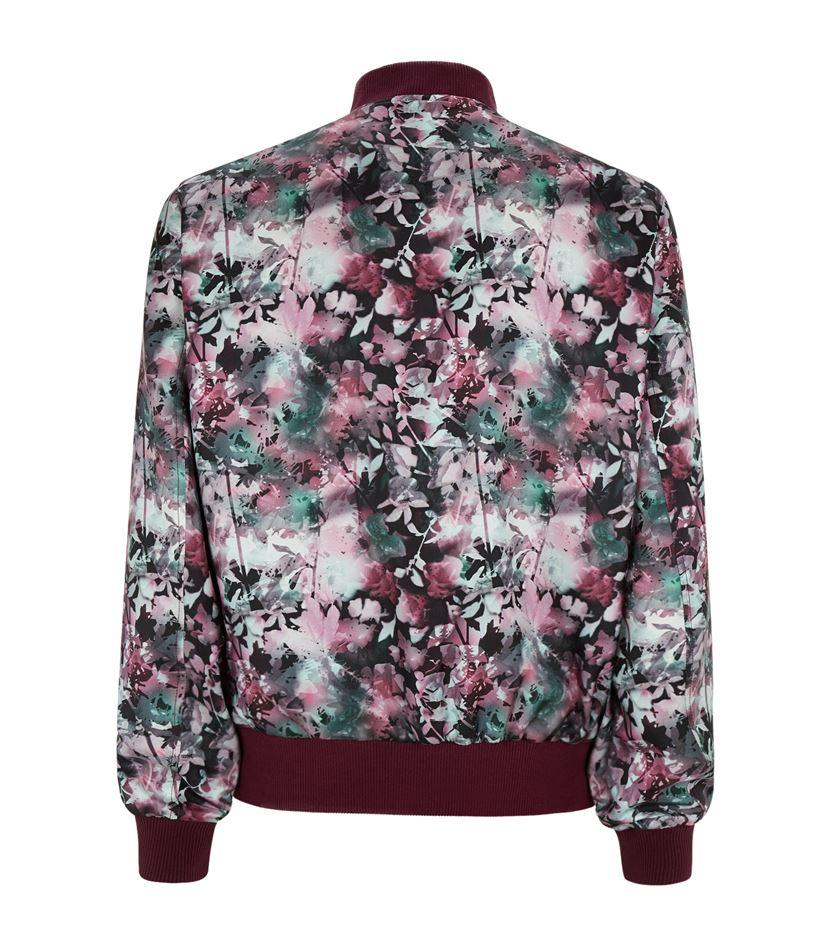 Brioni Printed Silk Bomber Jacket - Florals for Men