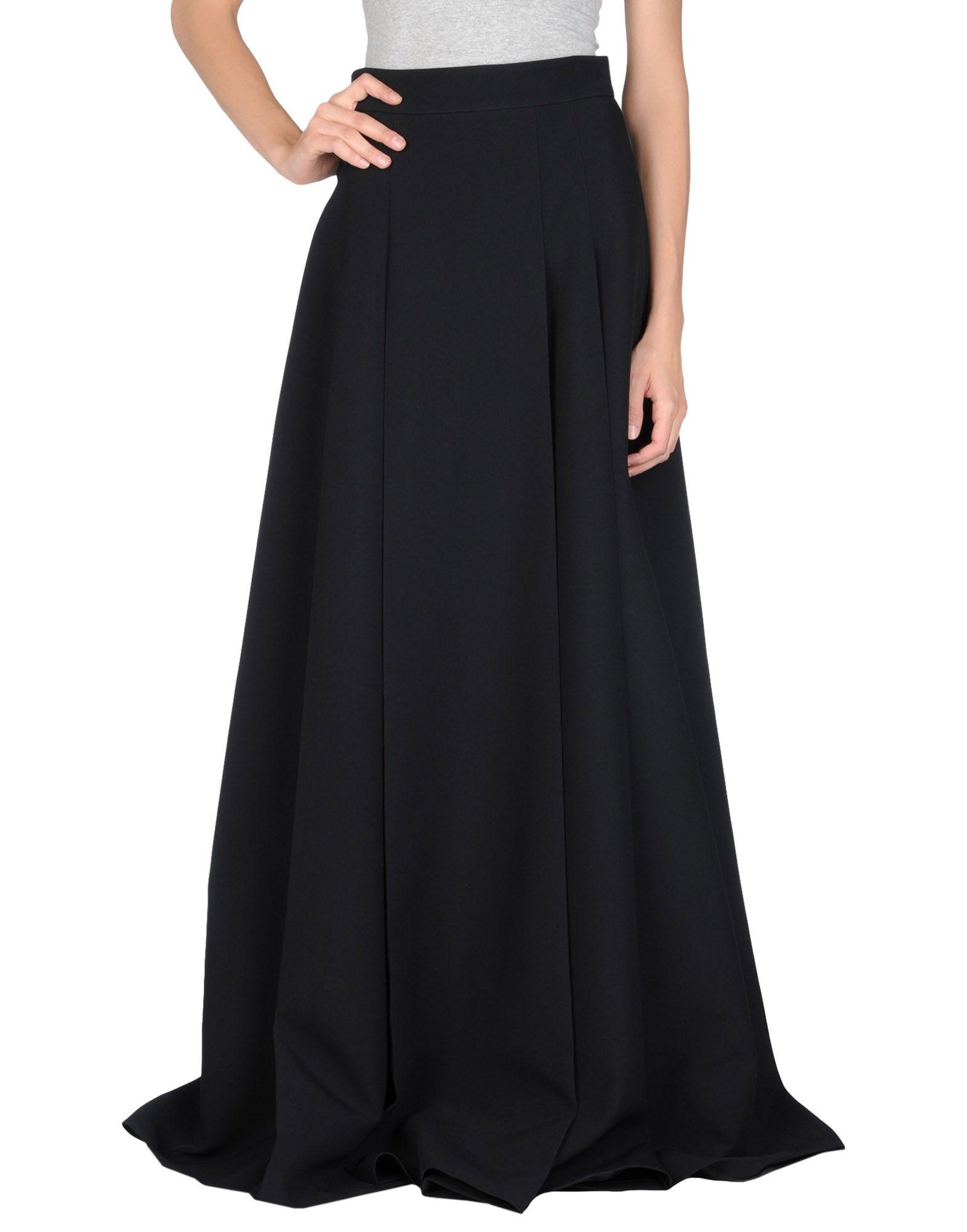 Fausto puglisi Long Skirt in Black