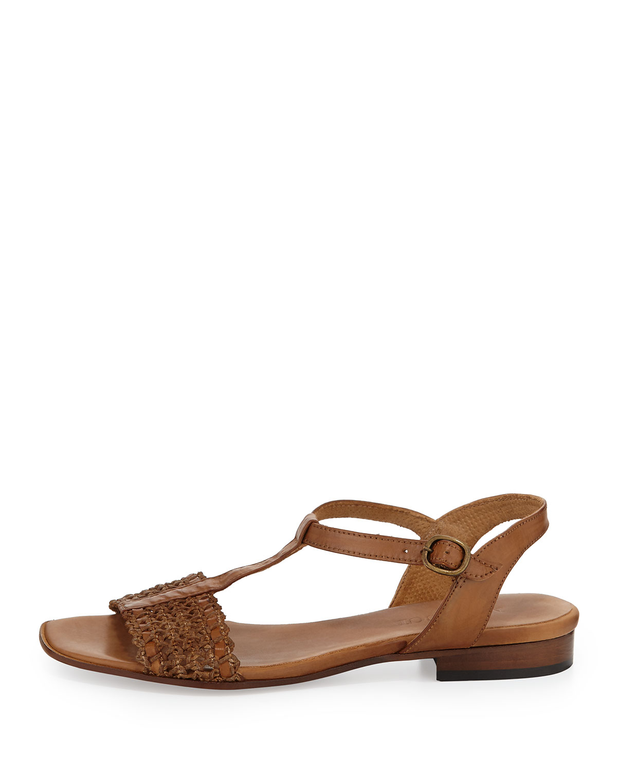 Camel Brown Leather Shoes