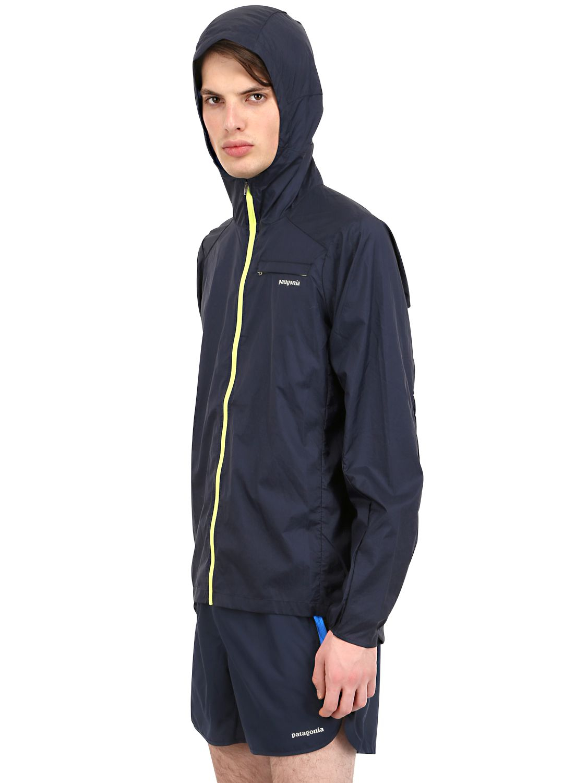 Patagonia Houdini Running Jacket in Navy (Blue) for Men