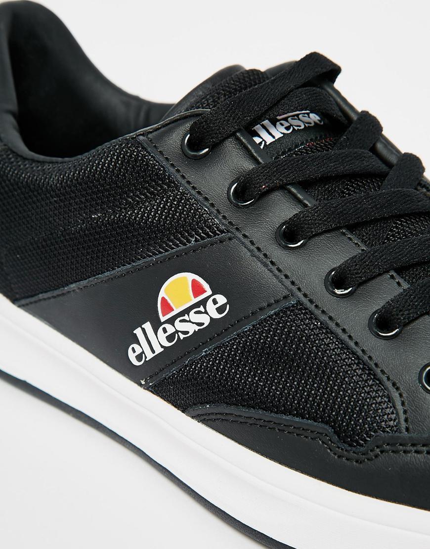 6b07d7938e Ellesse Black Pavia Trainers for men