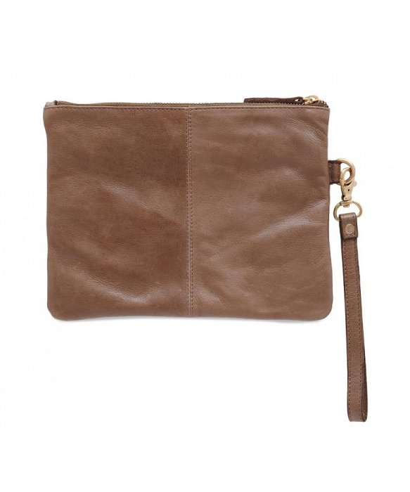 Day mood bianca quilted clutch in brown lyst - Lovely unique exterior design in a childcare with flashy interior ...