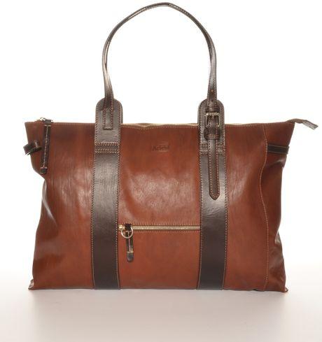 aries bloody gorgeous big brown bag by in brown lyst