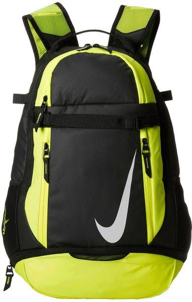 nike vapor elite backpack in green blackvoltwhite