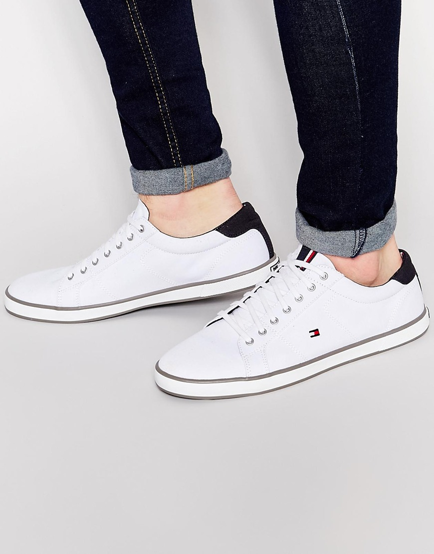 Tommy Hilfiger Canvas Harlow Lace Up