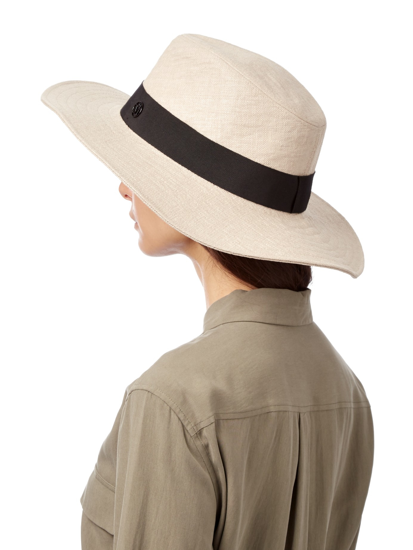 Lyst - Maison Michel Charles Straw Foldable Hat in Natural 52ffdbd6958