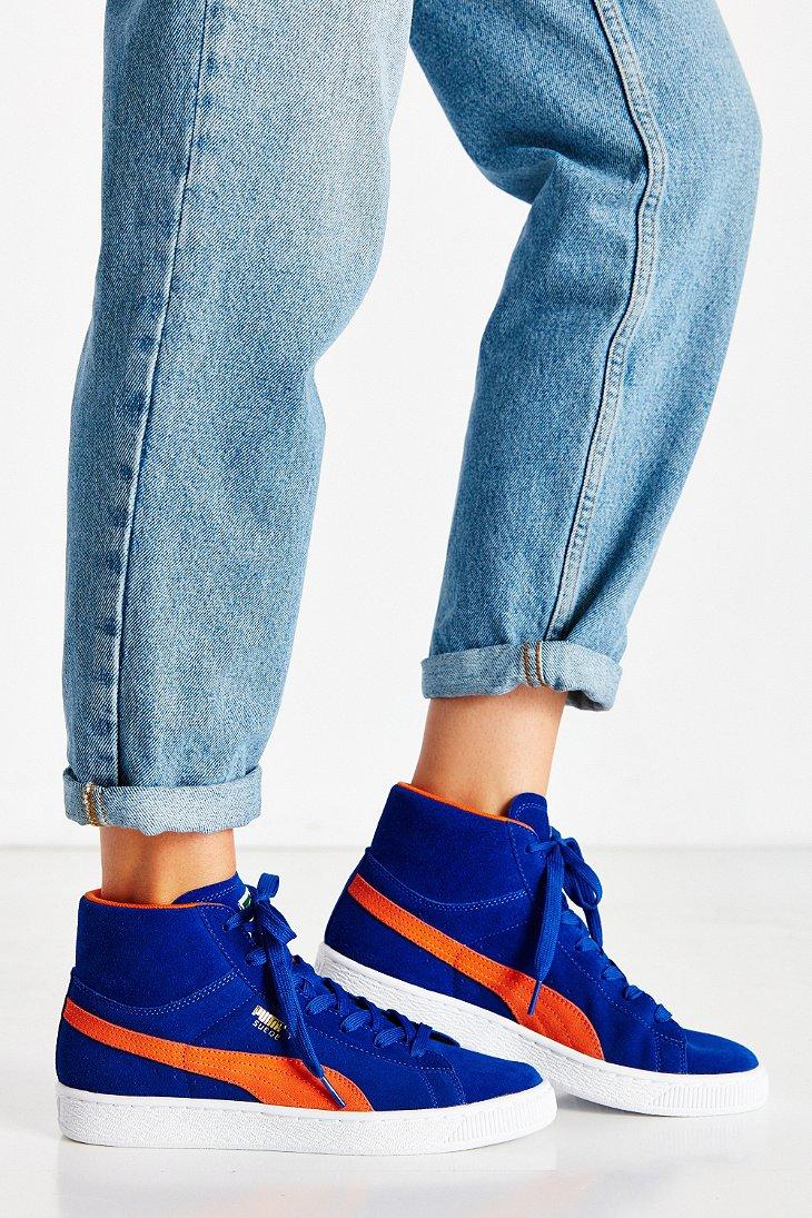 puma womens suede classic  blur sneaker
