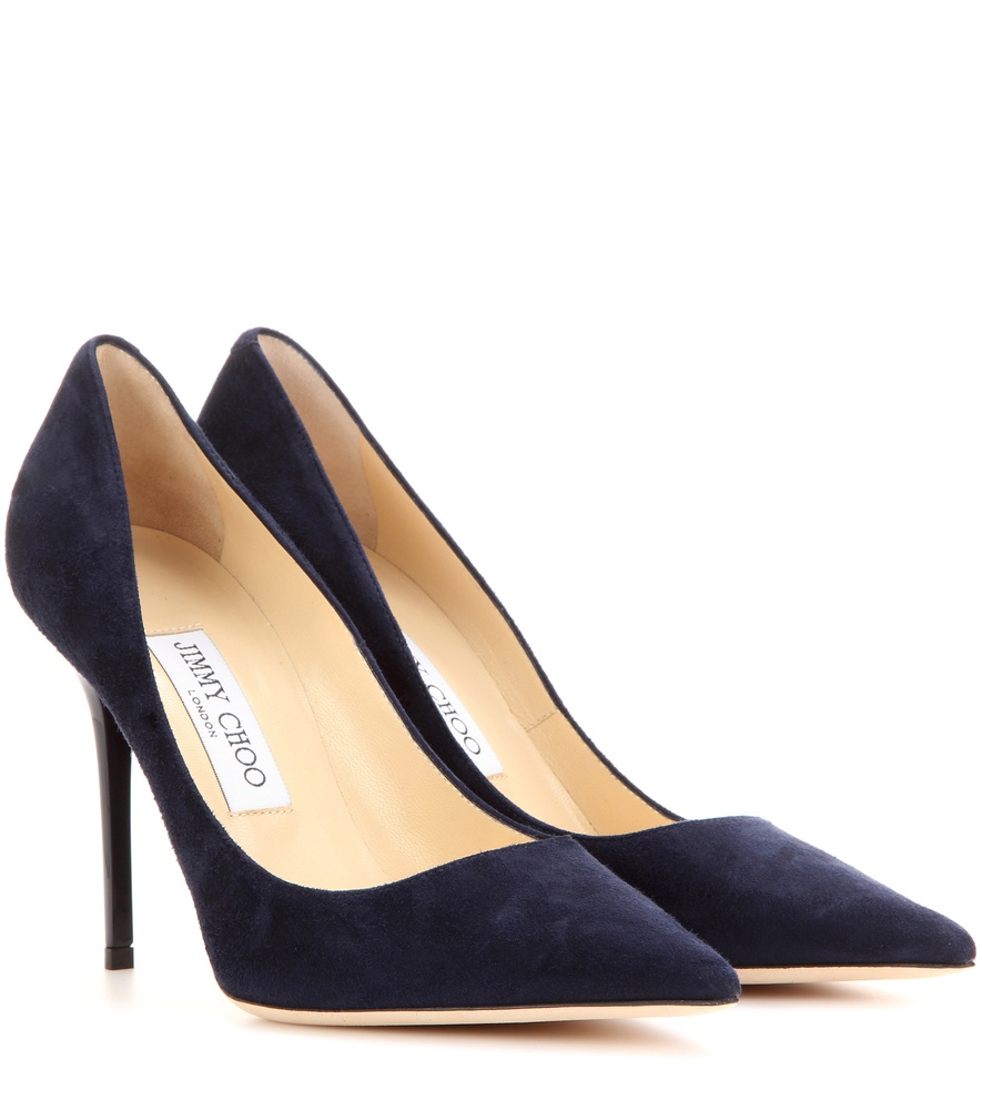 Lyst Jimmy Choo Abel Suede Pumps In Blue