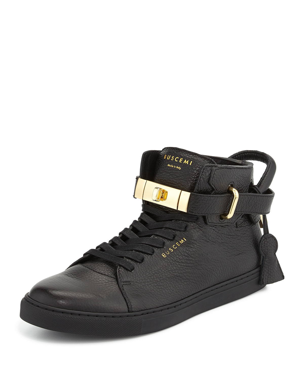 Buscemi High-Top Padlock Sneakers w/ Tags cheap many kinds of uNBmQH
