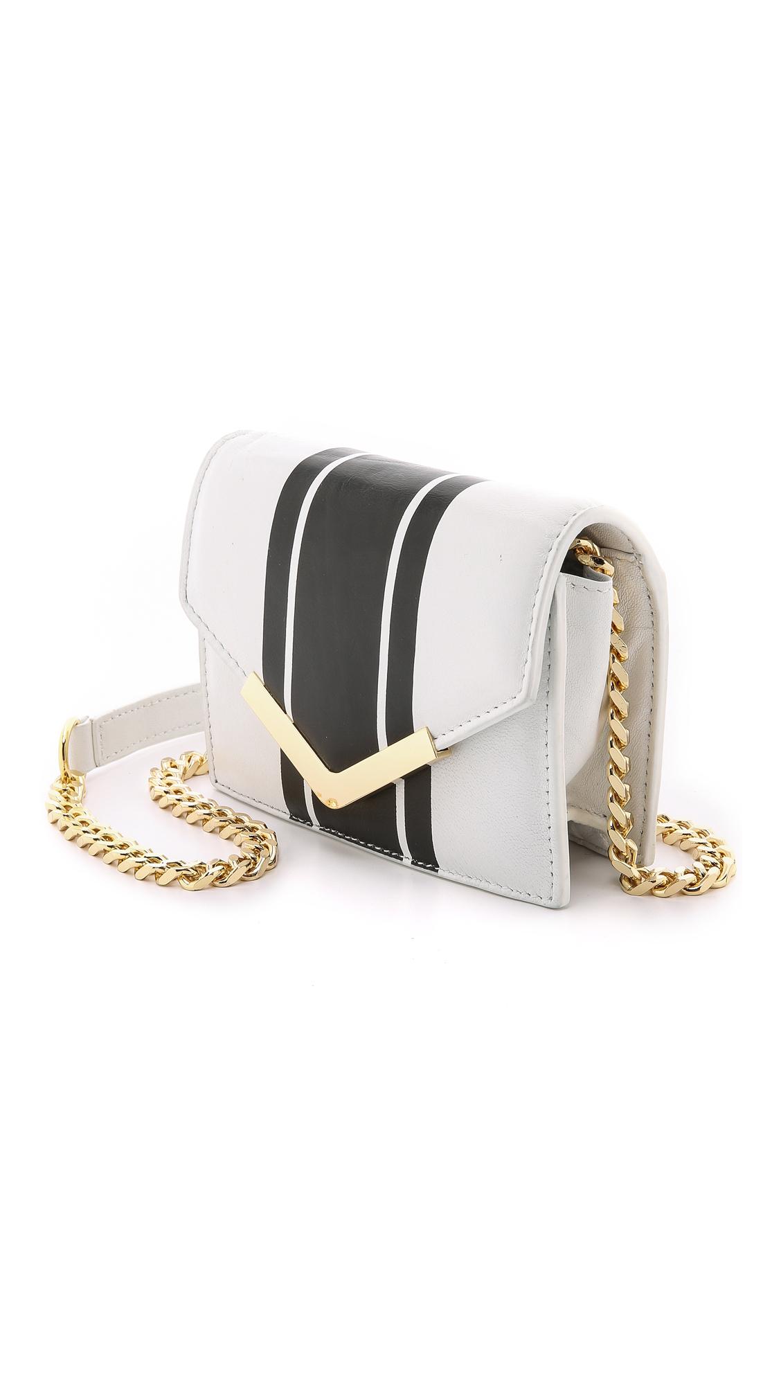 Cynthia Rowley Ella Cross Body Bag - White