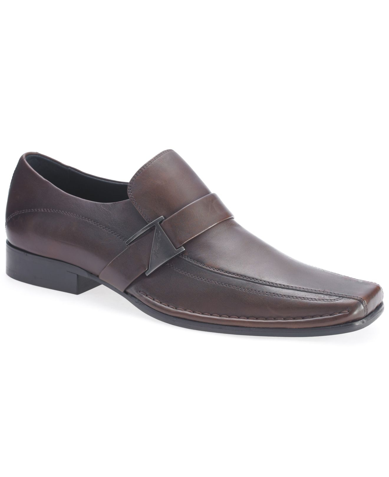 Kenneth Cole Slip On Shoes Run Around Strap