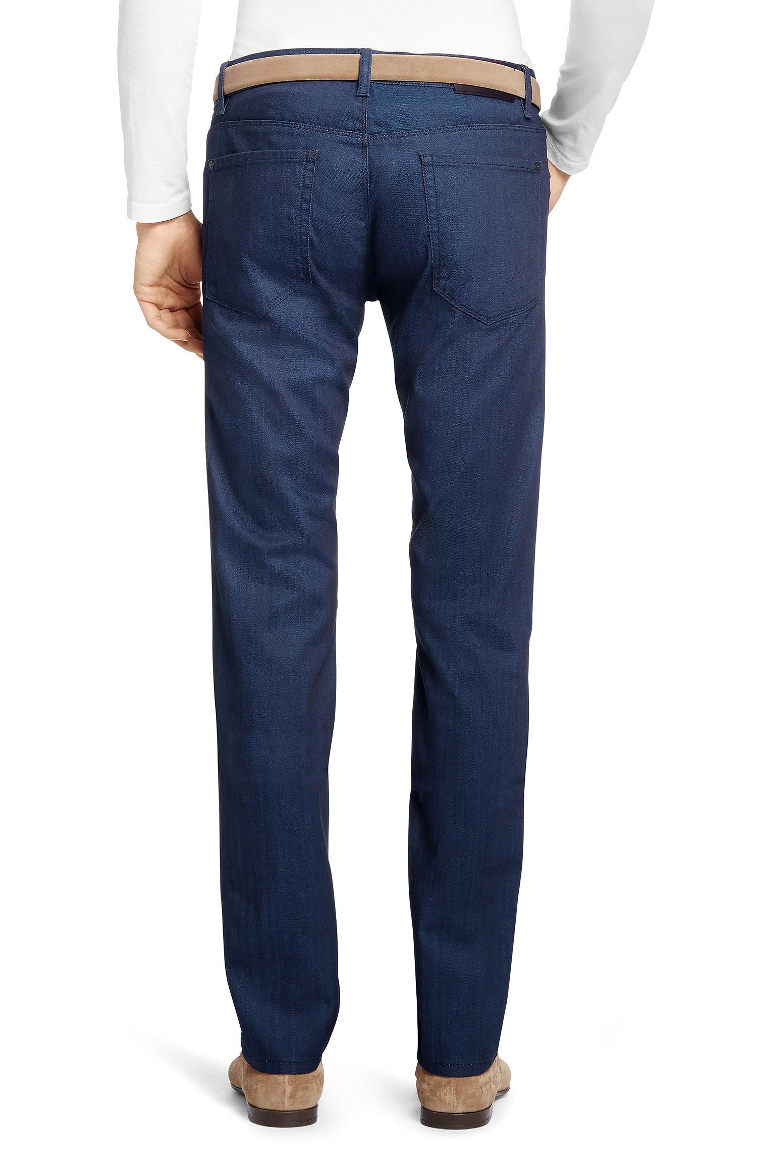 hugo 39 708 39 slim fit oz stretch cotton jeans in. Black Bedroom Furniture Sets. Home Design Ideas