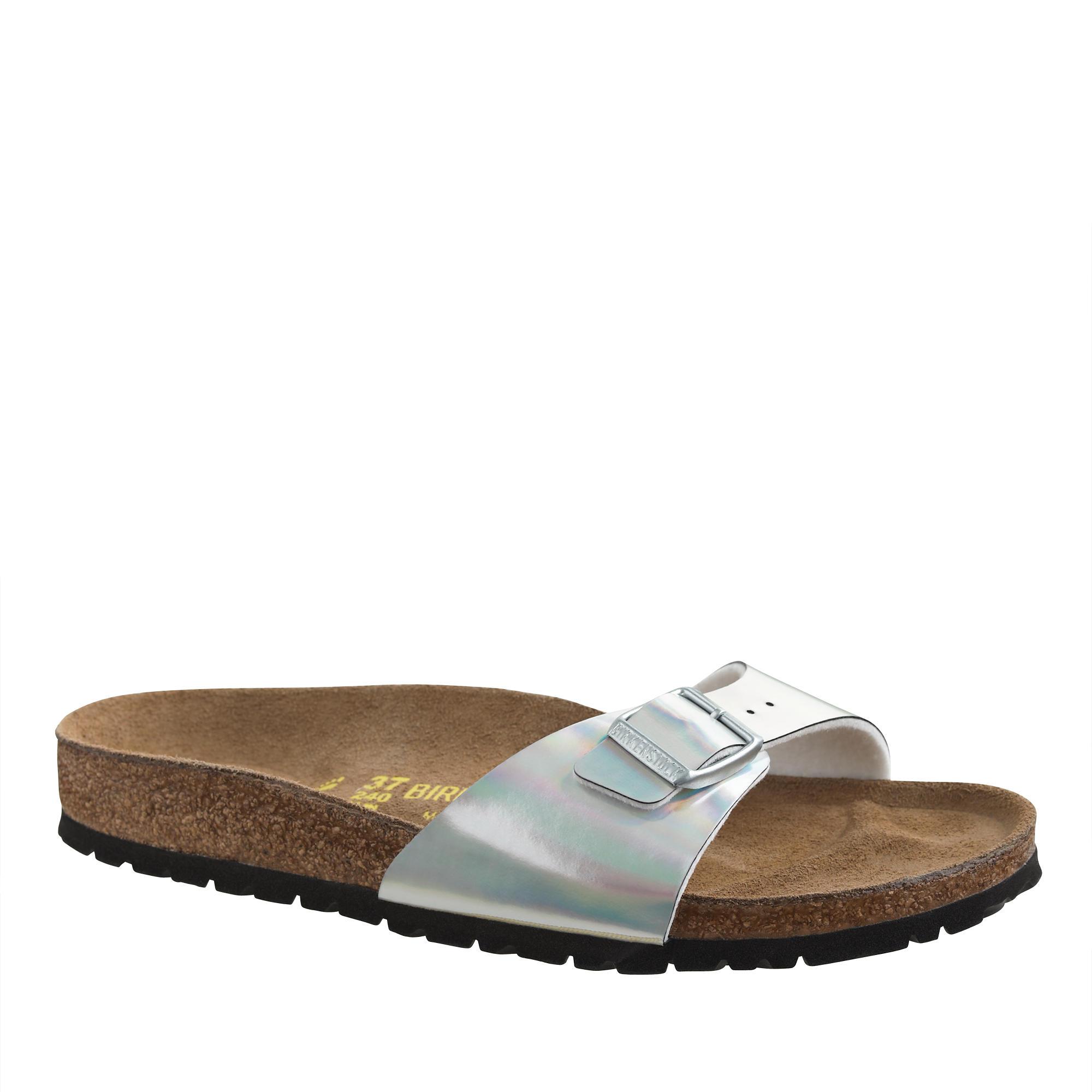 women 39 s birkenstock metallic madrid sandals in. Black Bedroom Furniture Sets. Home Design Ideas