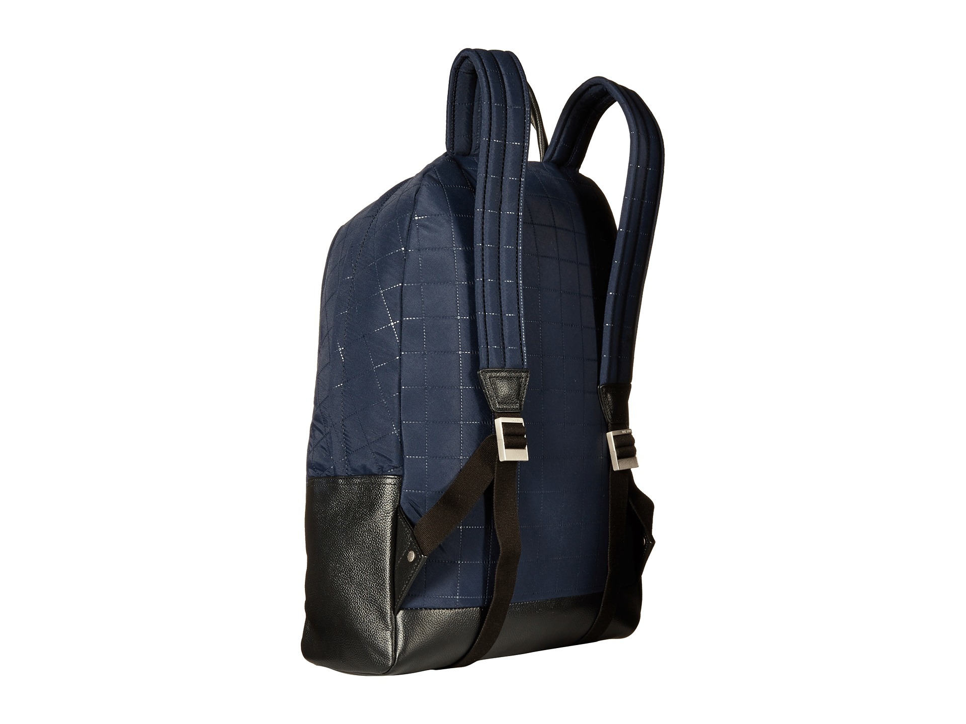 Jack spade Quilted Tech Nylon Backpack in Blue for Men