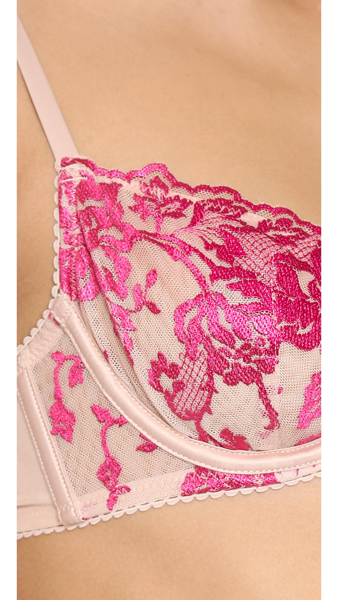Heidi Klum Intimates Women/'s Sun Kissed Underwire Bra Rose Dust Pink