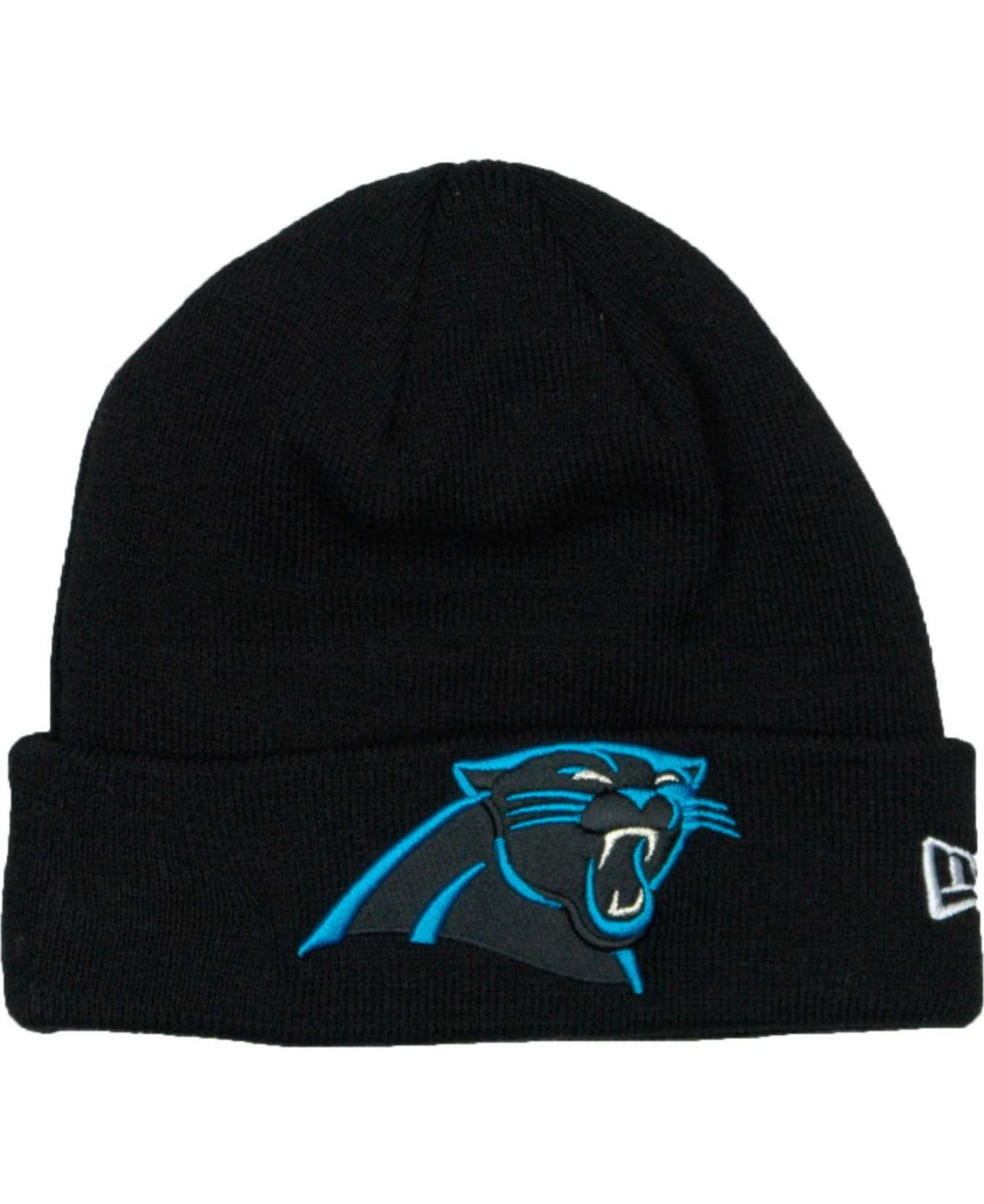 Lyst - KTZ Carolina Panthers Basic Cuff Knit Hat in Black for Men 632f23d7a45