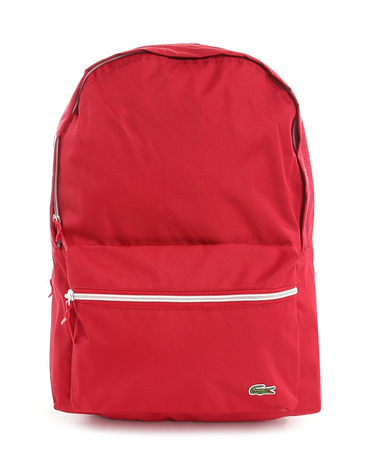 Lacoste Red Backpack in Red for Men