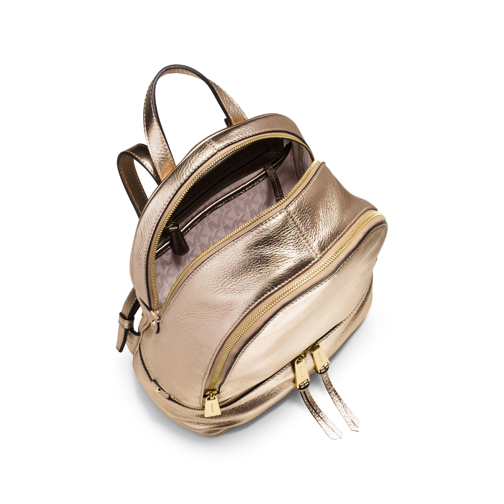 dd6141d95612 Womens Michael By Michael Kors Rhea MICHAEL Michael Kors Rhea Zip Medium  Slim Backpack ...