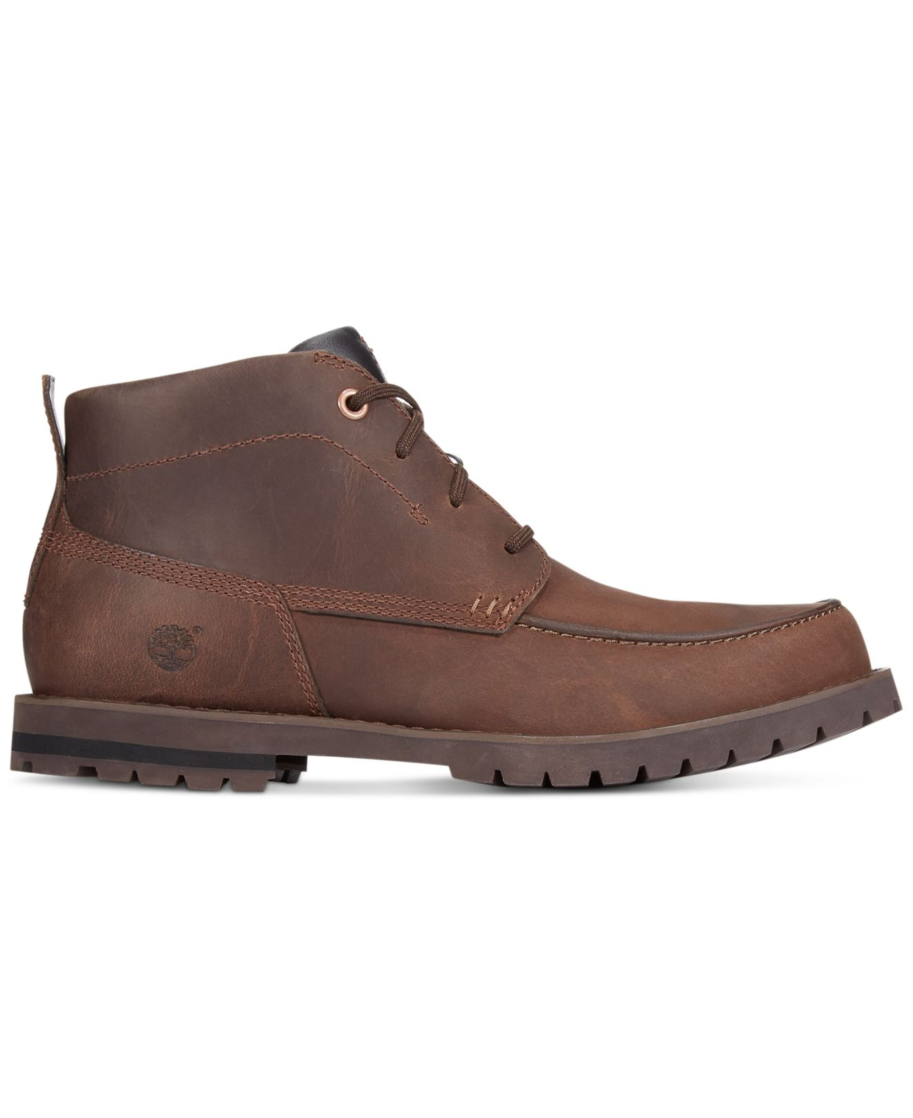 timberland baluster chukka boots in brown for