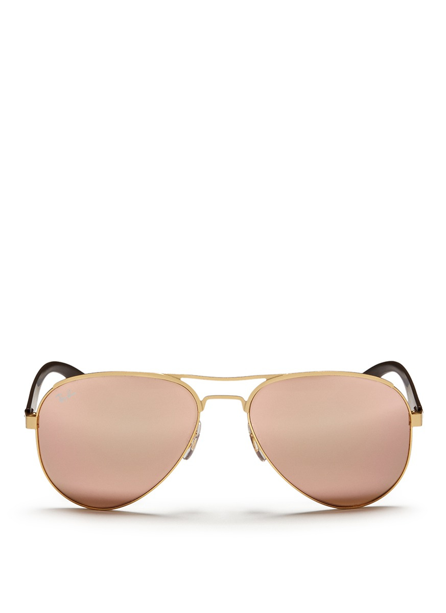 Ray Ban Aviator Brown Women | Our Pride Academy