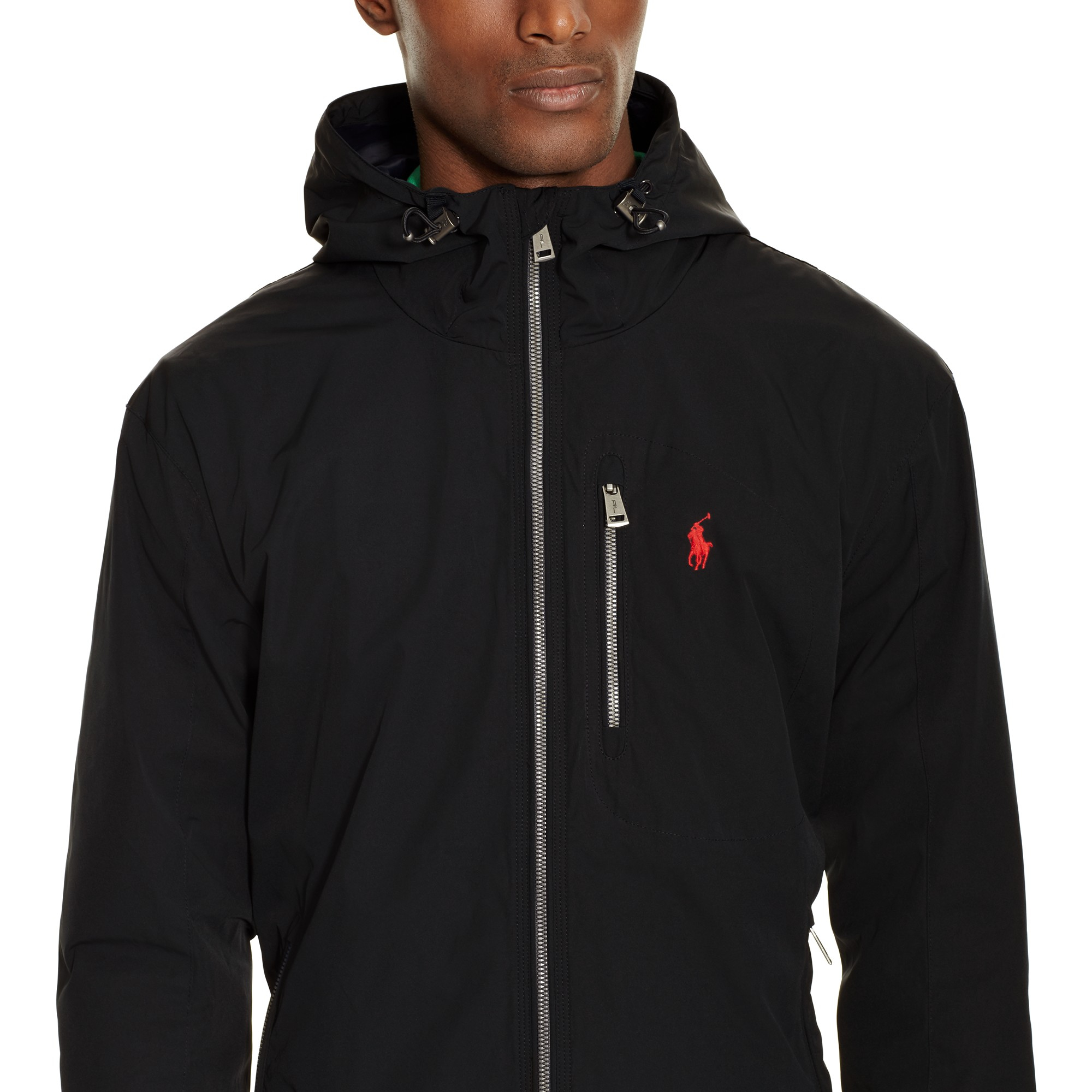 Pink Pony Polo Thorpe Anorak In Black For Men Lyst