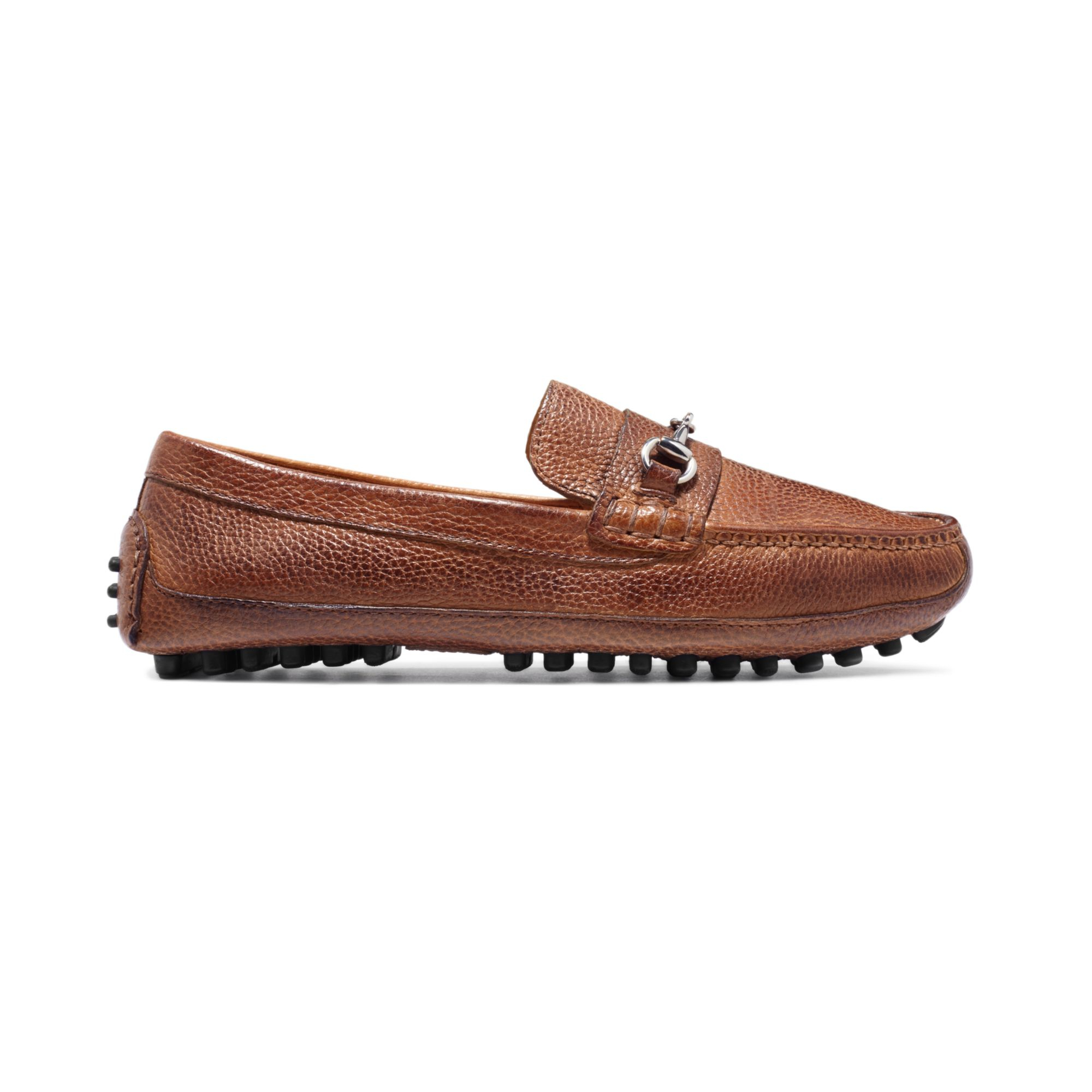 e60bfb136 Lyst - Cole Haan Grant Canoe Bit Loafers in Brown for Men