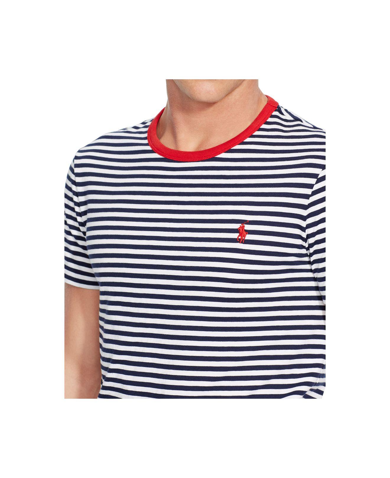 Polo Ralph Lauren Striped Jersey T Shirt Ralph Lauren Polo ...