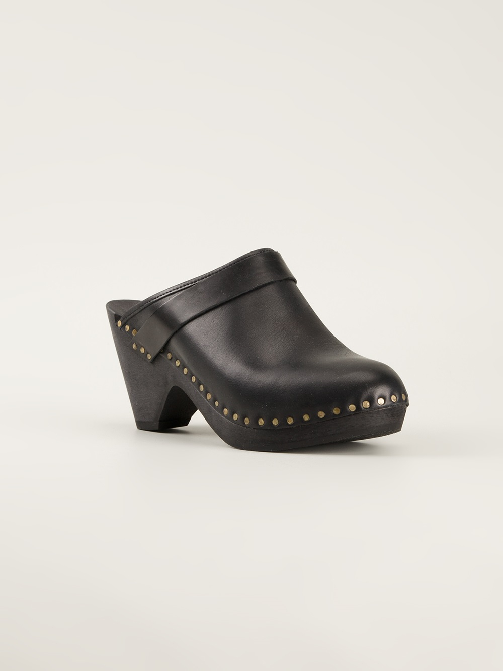 Isabel Marant Towson Clogs in Black - Lyst