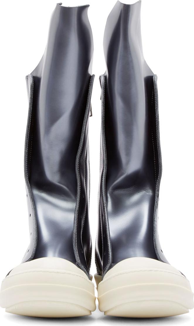 Rick OwensElastic Sliver Boots kYiSJ