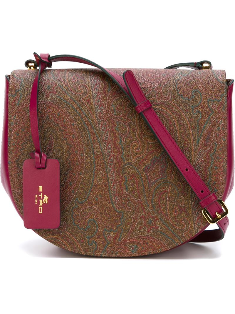 Etro Paisley print cross-body bag t4NiRJzSEq