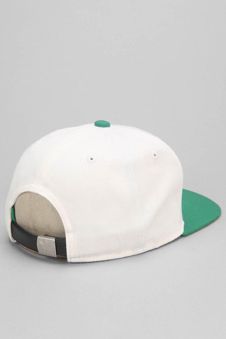 0b48cd512e Adidas Green Original Iconic Strap-Back Hat for men