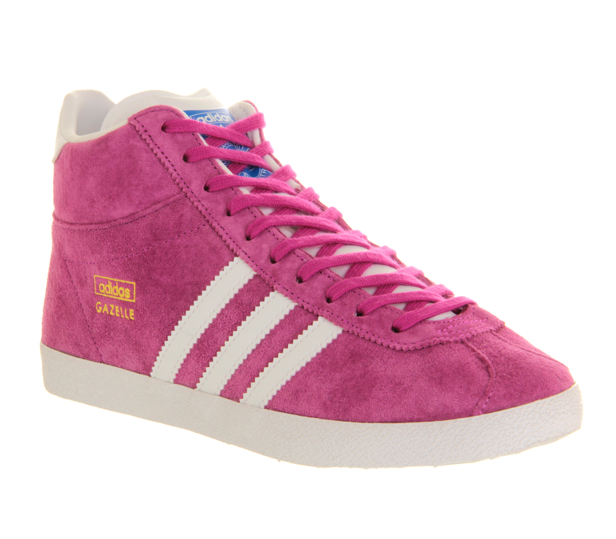 adidas Gazelle Og Mid Trainers in Pink - Lyst