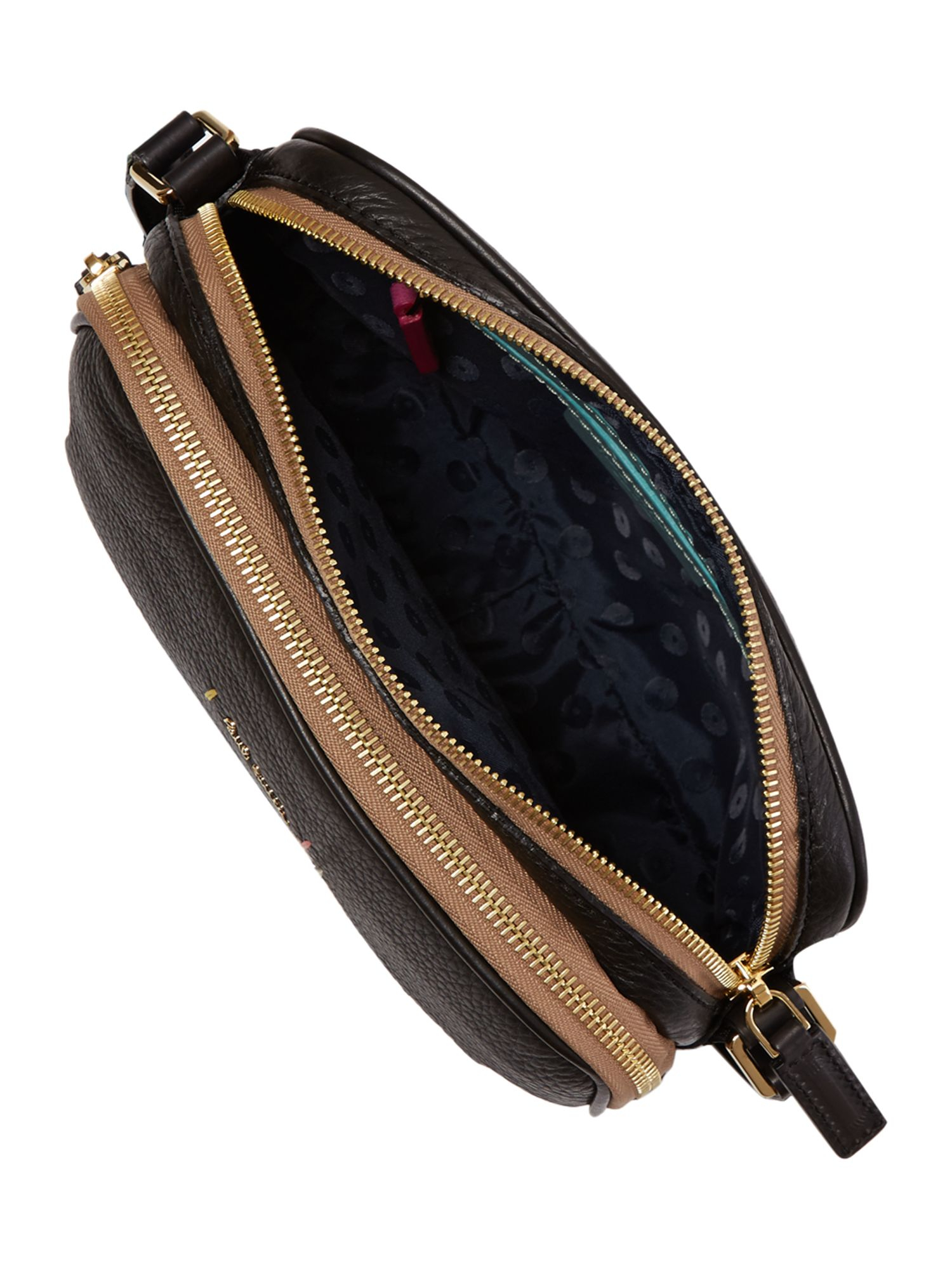 Paul Smith Albermarle Black Mini Cross Body Bag
