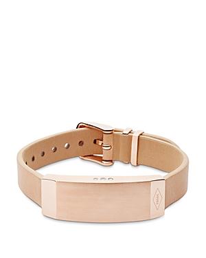 fossil q reveler fitness tracker bracelet in pink lyst. Black Bedroom Furniture Sets. Home Design Ideas
