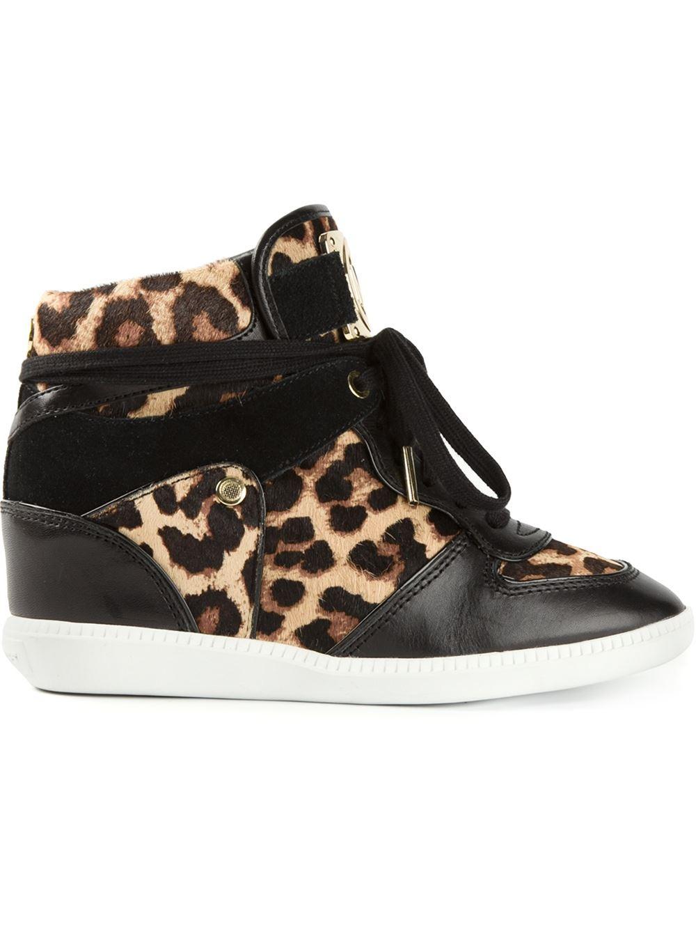 michael kors sneakers leopard print