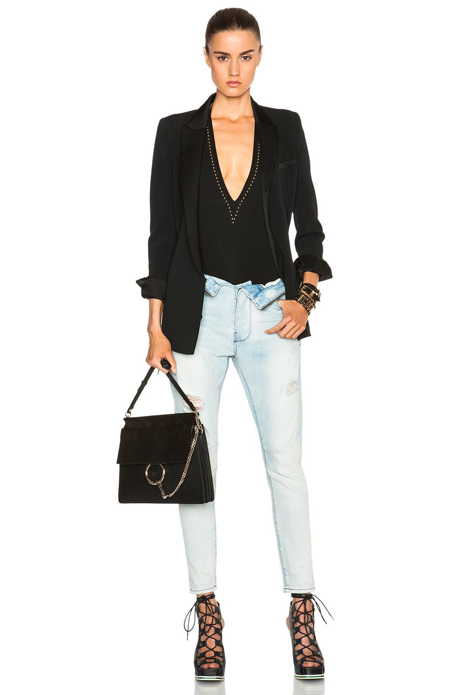 Chlo�� Faye Medium Shoulder Bag in Black | Lyst