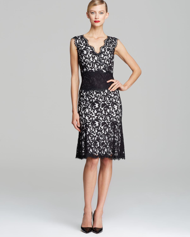 Pepperberry black lace dress