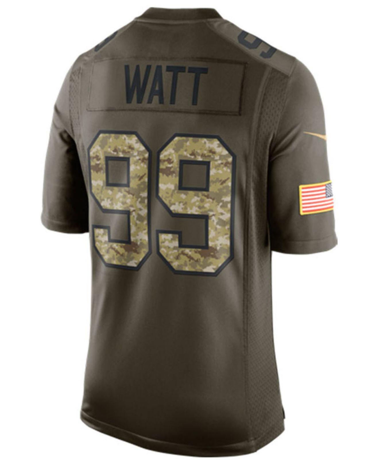Salute j Watt Nike Green Men For Men's Texans Houston To Service J Jersey fedddccc|Nfl Reside Sport Watch