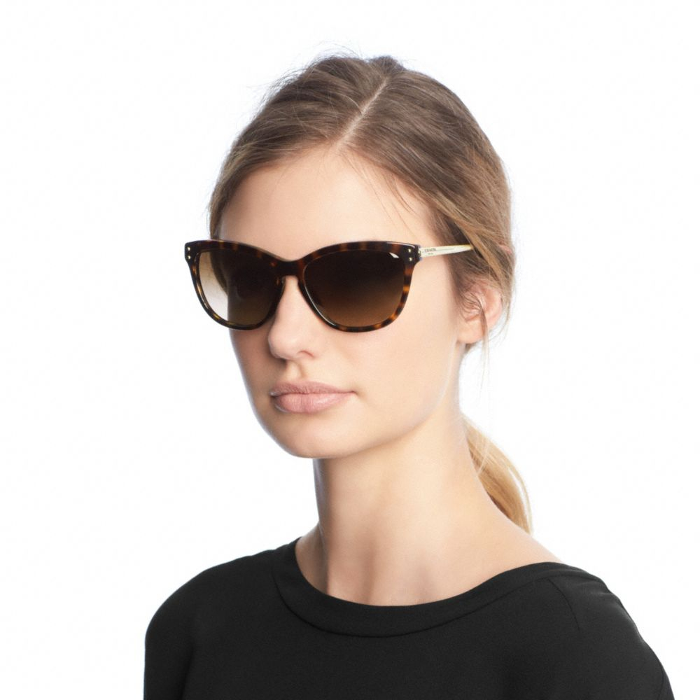 e717a651a3f3 discount coach mirrored square aviator sunglasses 53771 dbdfb; italy coach  celia sunglasses in brown lyst 2f539 b2578