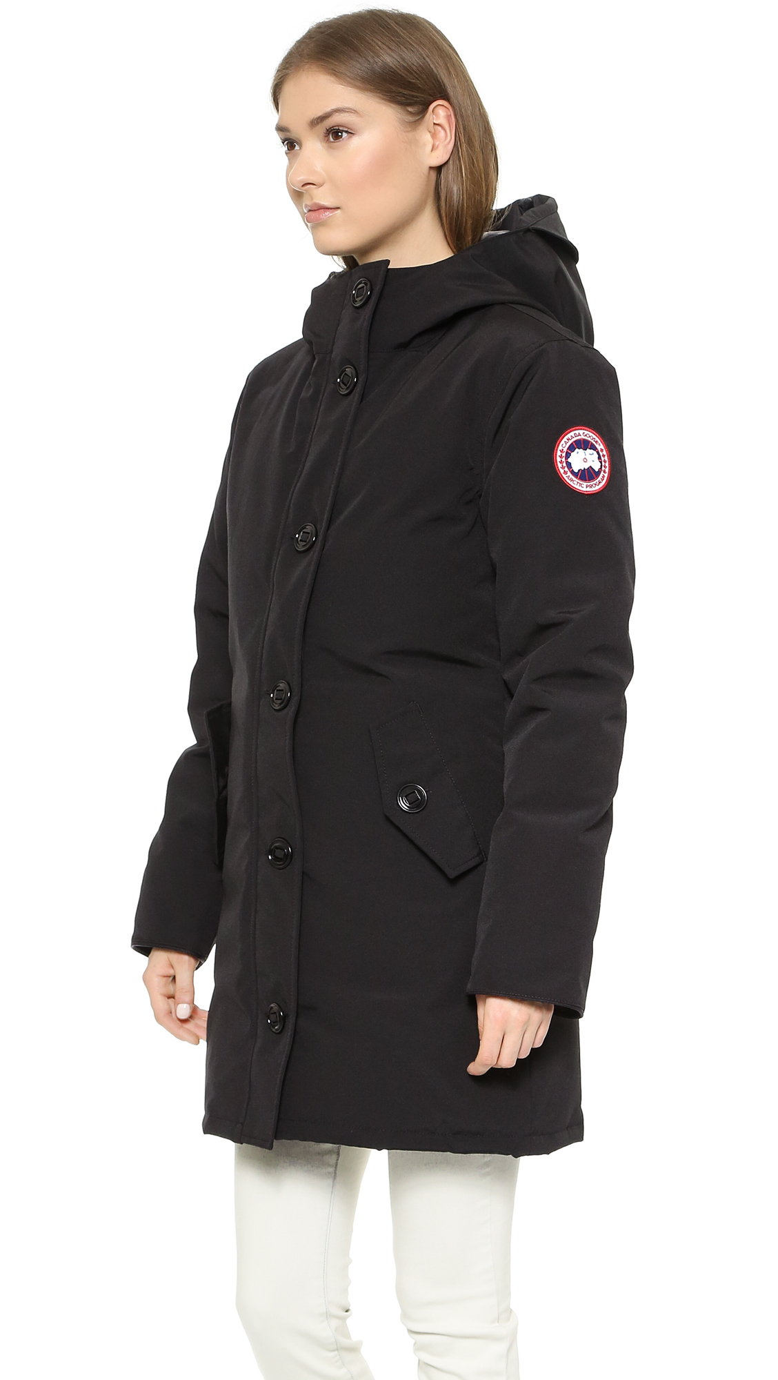ab457123b734 ... cheap canada goose damen camrose parka coat 0c615 7ab51