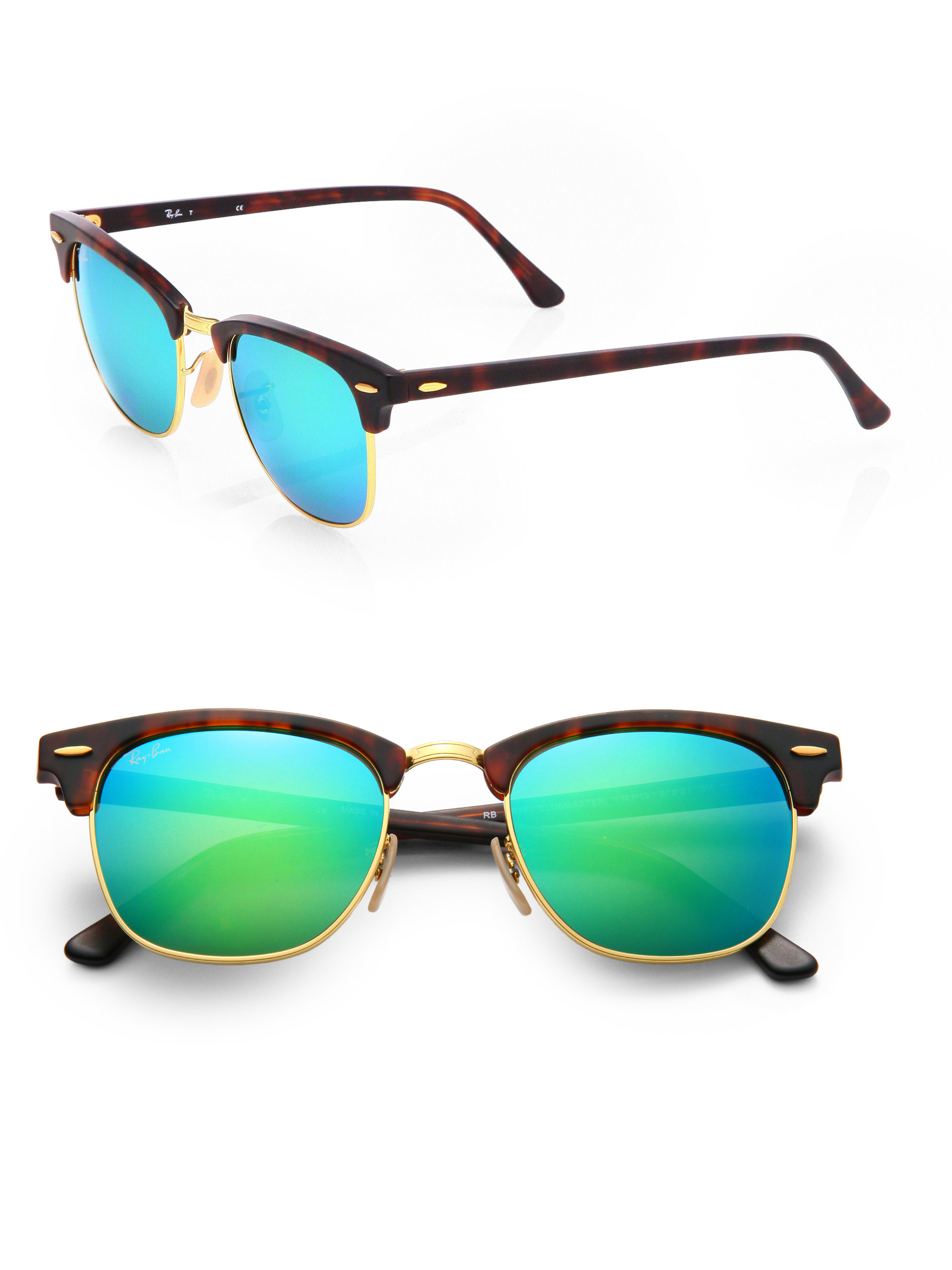709bd4d4b06f5 inexpensive ray ban clubmaster polarized green 5f9c7 d517f