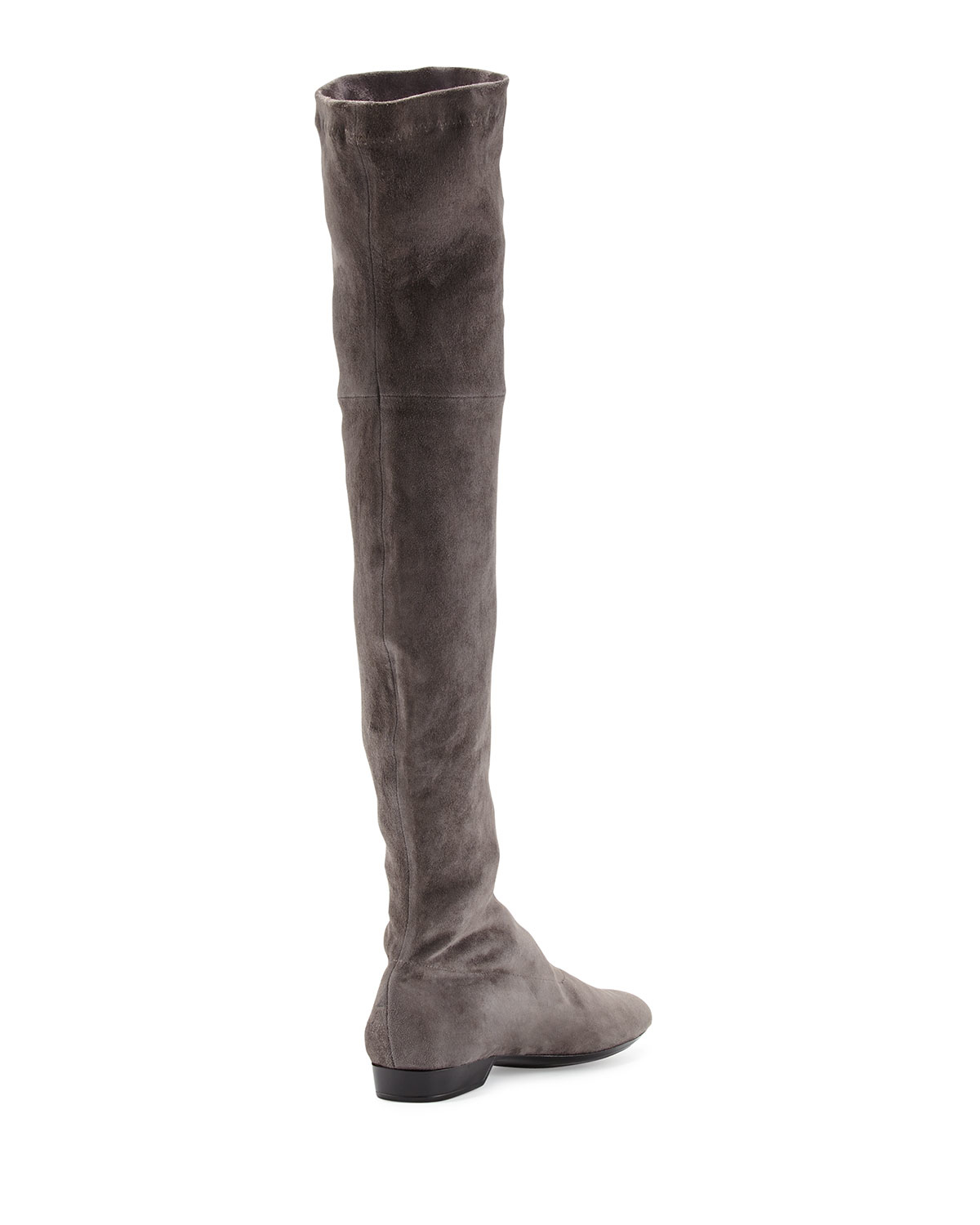 robert clergerie fissaj stretch suede the knee boot