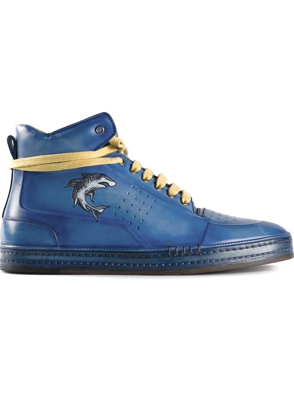 Prada Shoes Men Hi Top